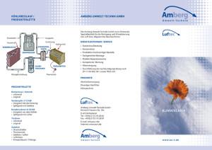 Flyer Klimatechnik
