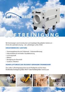 Luftreinigung R450