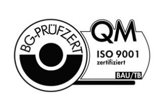 QM ISO 9001 zertifiziert